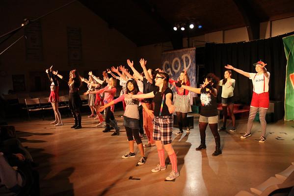GODSPELL Dress Rehearsal 2/21/13