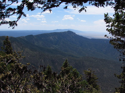 Sandia Mtns. - King of the Mtn-Rocky Point-Crest Trail-10K South Trails Hike  7-13-20
