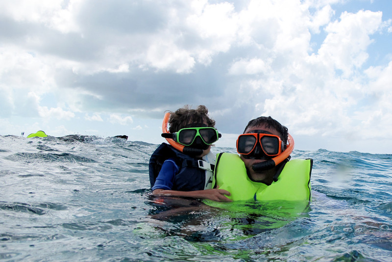 Bode first snorkel.jpg