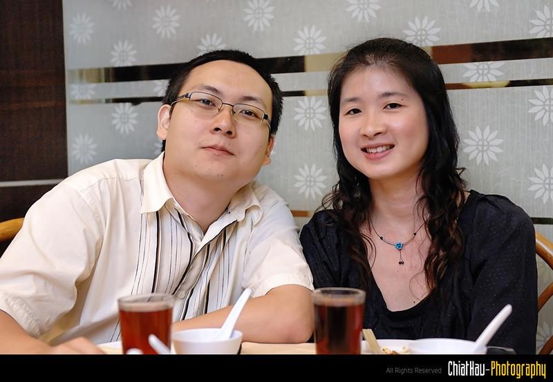 Alex and Mun Wai - couple shot of course. :D