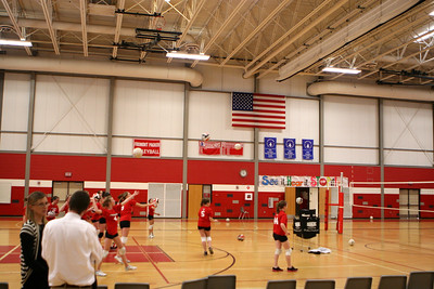 Girls 8th Grade Volleyball - 2/28/2011 Newaygo