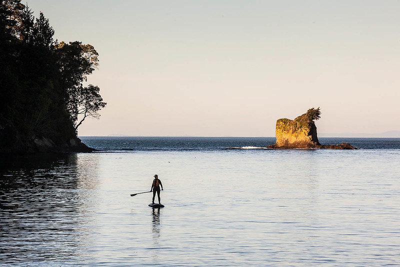Salmon Bay Paddle sup tour, Freshwater Bay, Clallam County Park, Port Angeles, WA USA