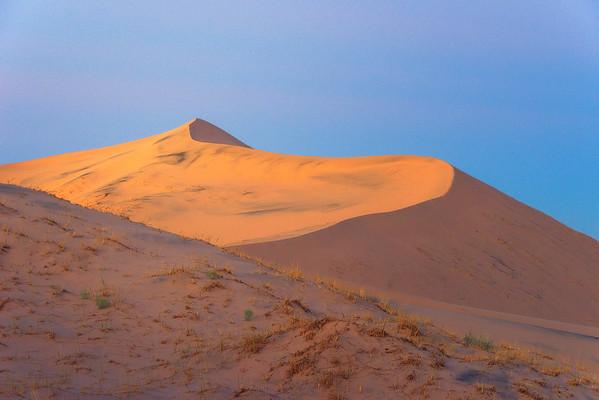 Riding Desert Waves