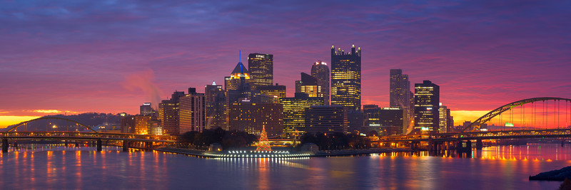 """Open the Hatch (Panoramic)"" - Pittsburgh, South Side   Recommended Print sizes*:  5x15  