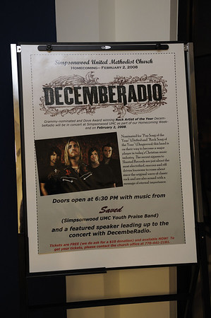 2008 Saved and DecembeRadio Concert