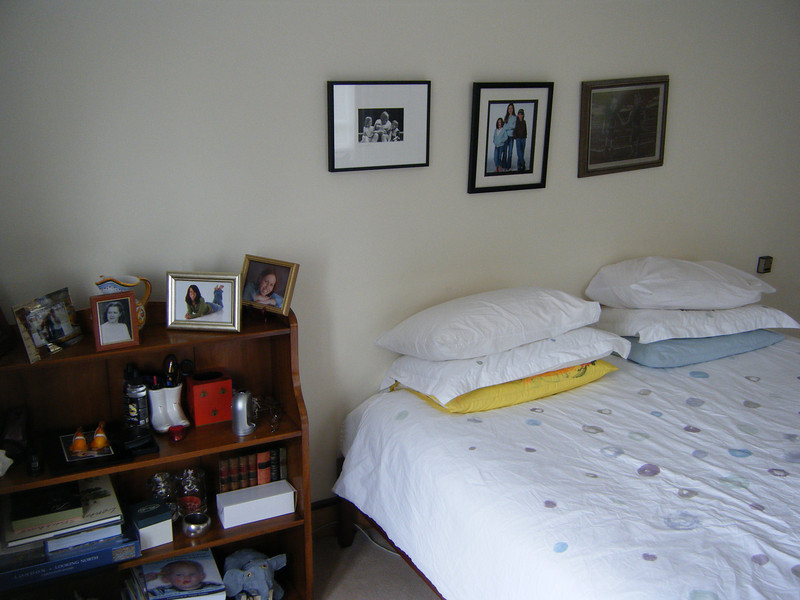 Master bedroom on the 1st floor (one above ground level).