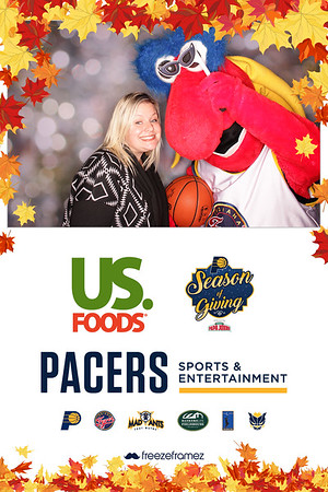 2018 Pacers Come To Our House Thanksgiving Dinner
