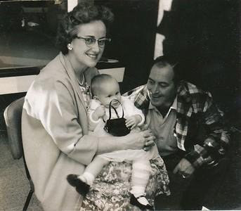 Peg With Grandma & Grandpa Niece