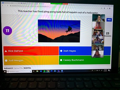 US 12th Kahoot Game 4-3-20