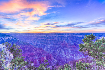Grand Canyon North Rim - Bright Angel Point