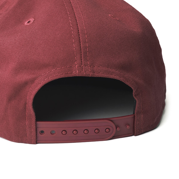 Outdoor Apparel - Organ Mountain Outfitters - Hat - Unstructured Snapback Cap Maroon Detail.jpg