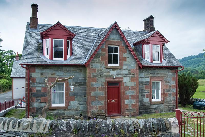 Cottage in village near hotel