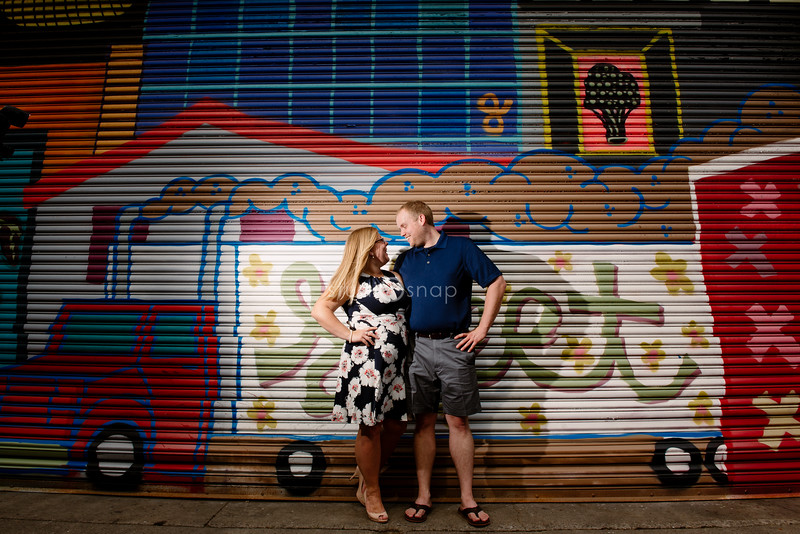 Alyssa & Chris | Engagement | Eastern Market, Detroit, Commerce