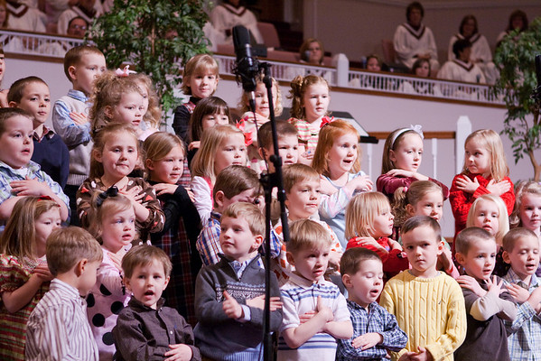 PreSchool Choir Feb 28, 2010