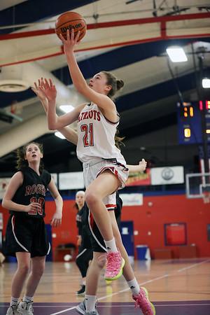 Paper HS Basketball Girls Playoffs RHS at PHS