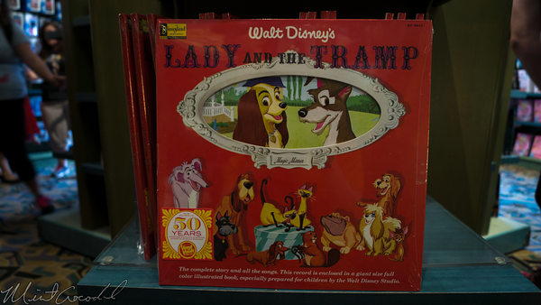 Disneyland Resort, Disney California Adventure, Lady, Tramp, Record
