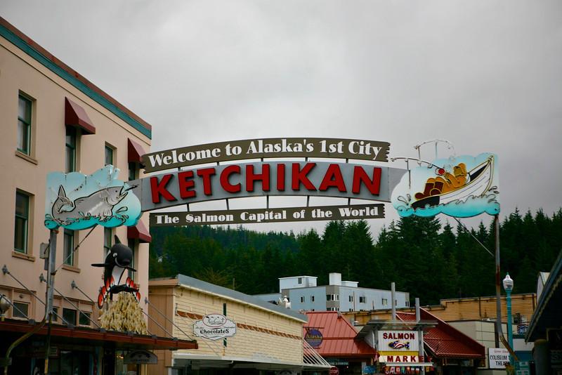Alaska Anniversary Cruise Day 3 Ketchikan