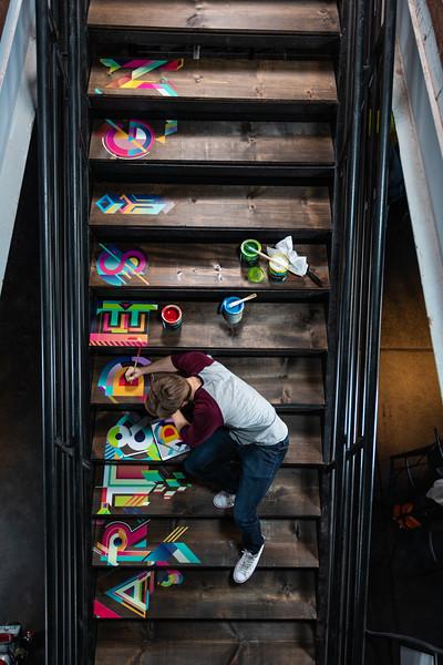 Art & Design stairs