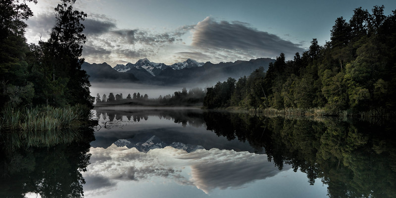 Lake Matheson Reflections