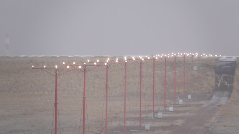 Landing Lights b-roll