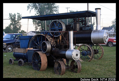 Steam Traction - National Threshers Association 2008