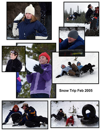 2005 - 04 Snow trip
