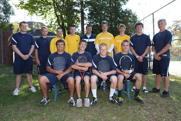 High School Tennis - Varsity - Negaunee Miners vs Iron Mountain Mountaineers - 05/16/12