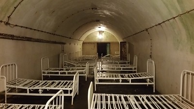 German Underground Hospital  Guernsey 2016