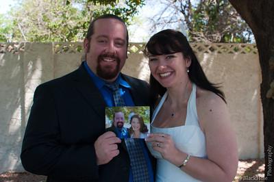 Ash and Kendra's Handfasting, 1 May 2012