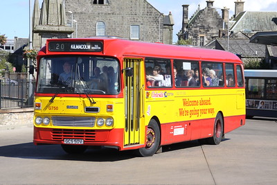 Scottish Vintage Bus Musuem Open Weekend 2015