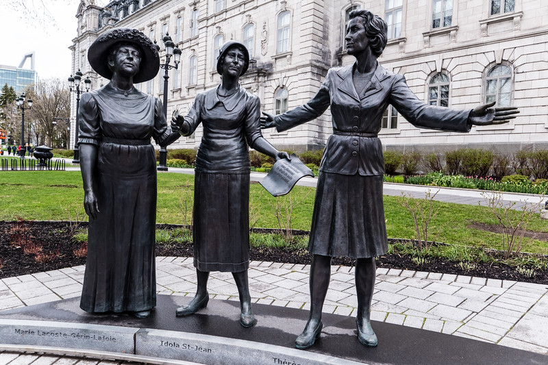 """""""Monument in Hommage to Women in Politics"""""""