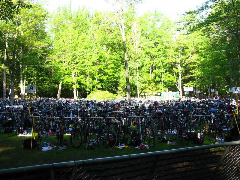 Bikes, pre-race