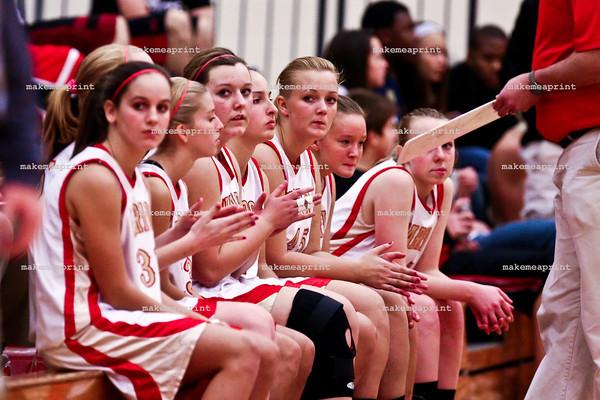 Girls JV Basketball v Wawasee