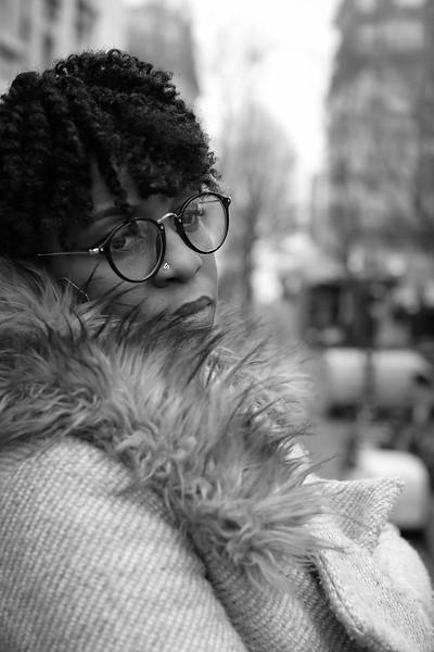 Anaïs Ulce, Un Jour de Janvier 2018, à Montmartre