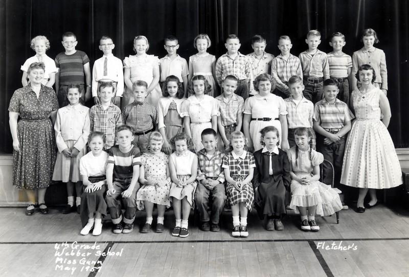 Webber 4th Grade Gunn