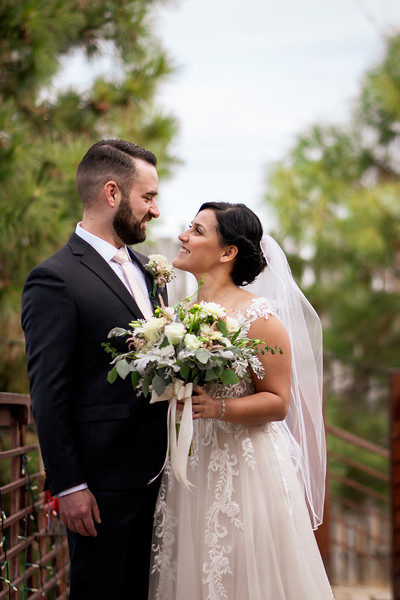 Nature Pointe November Wedding - Tijeras, New Mexico