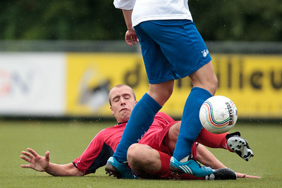 BVCB-1 - Hoekse Boys 1 oefenwedstrijd (07-08-2010)