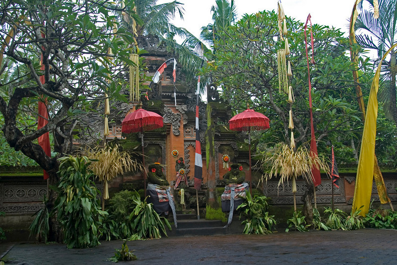 Barong Dance Stage in Bali, Indonesia