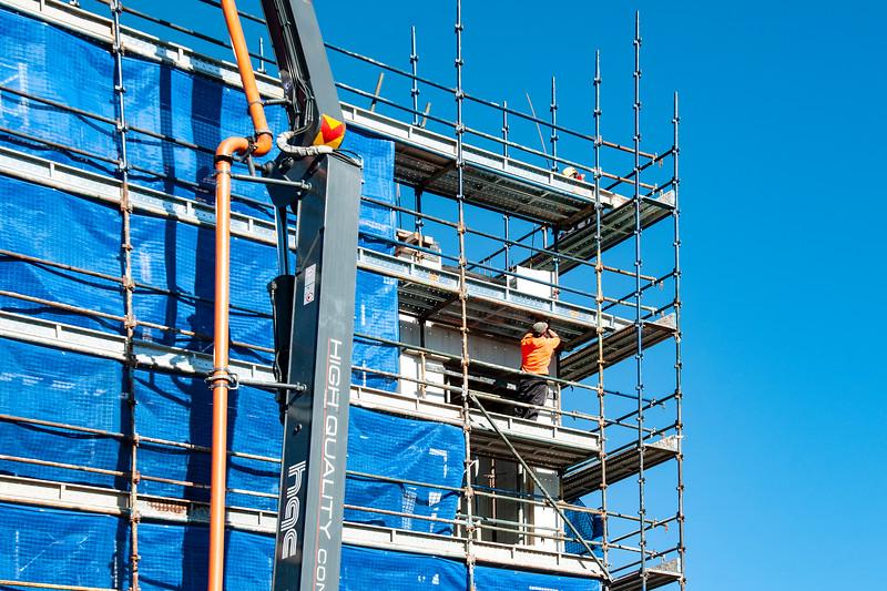 Building progress 100. At 47 Beane St. Gosford. July 2018.