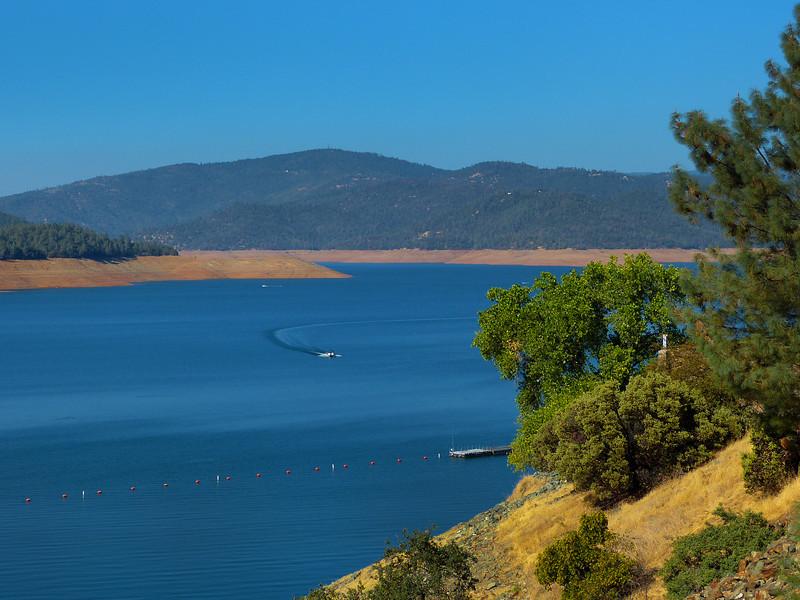 The Orville Dam Reservoir.