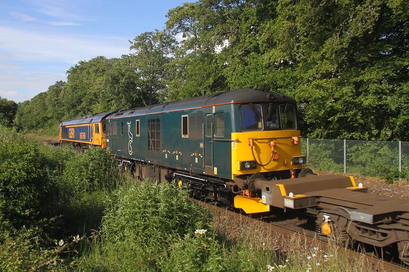 73968 Micheldever 15/06/20  6E65 Eastleigh to Peterborough