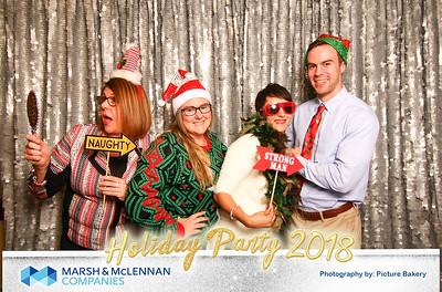 Marsh and McLennan Holiday party 2018