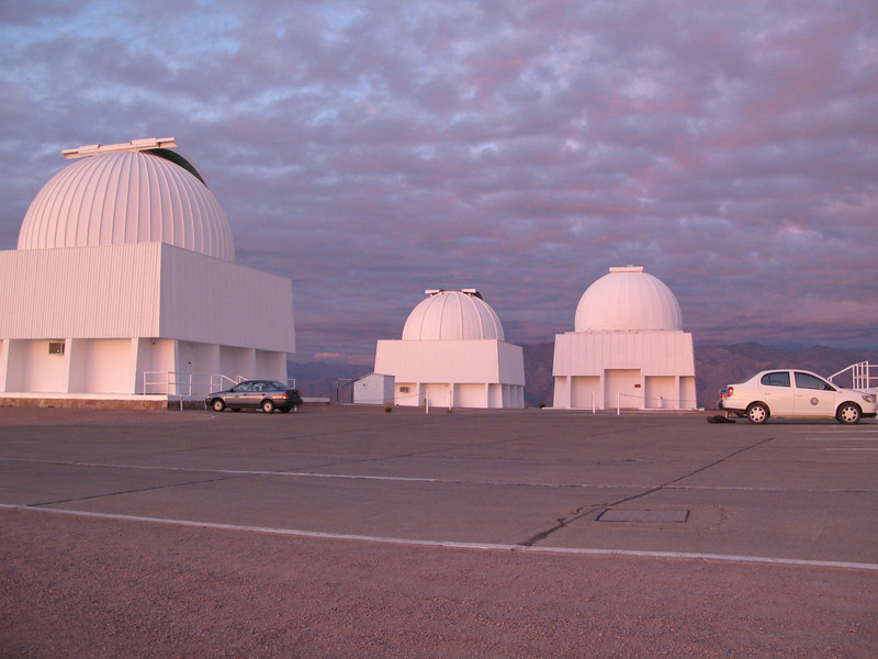 The 1.5m, 0.9m and 1m telescopes