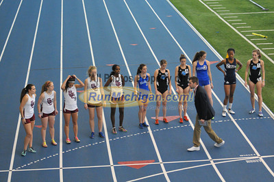 Women's 3000 - 2014 GVSU 5-Way Indoor Meet
