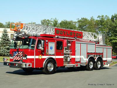 Misc. Massachusetts Fire Apparatus
