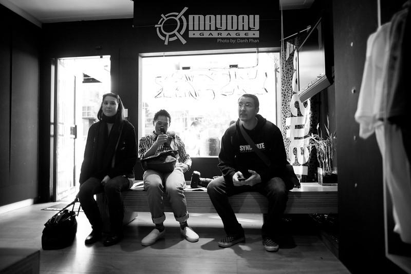 Mayday Garage, San Francisco, 2012