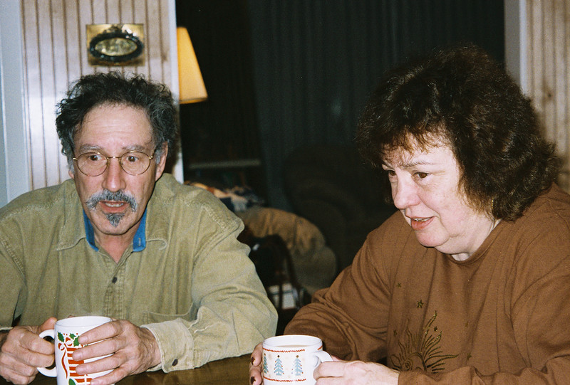 Larry & Shirley Lebin, visiting us in Mechanicsburg PA, Jan 1 1998.