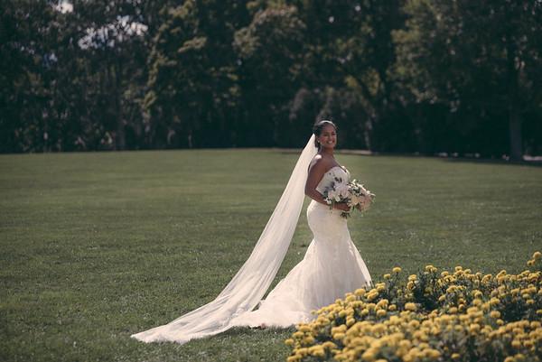 Deborah and Bereket Wedding day
