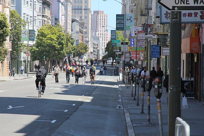 A Day without Cars: Sunday Streets in San Francisco