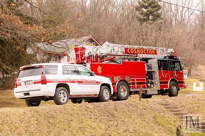 03-04-21 Coshocton FD - Chimney Fire